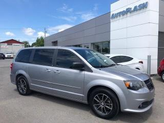 Used 2014 Dodge Grand Caravan SXT Blacktop-Ed. *A/C-3-Zones. *Camera *DVD for sale in Saint-Hubert, QC