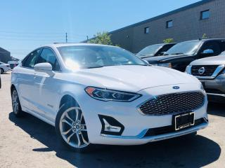 Used 2019 Ford Fusion Hybrid |TITANIUM|COOLING MEMORY SEATS|NAVIGATION|SUN ROOF|REAR VIEW for sale in Brampton, ON