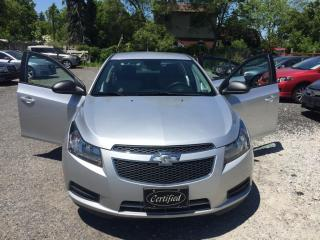 Used 2014 Chevrolet Cruze 4dr Sdn 2LS, auto, A/C, bluetooth for sale in Halton Hills, ON