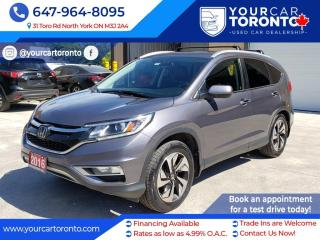 Used 2016 Honda CR-V AWD 5dr Touring for sale in North York, ON