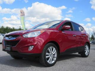 Used 2013 Hyundai Tucson LIMITED / AWD / ONE OWNER / ACCIDENT FREE for sale in Newmarket, ON