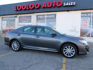 Used 2012 Toyota Camry LE Automatic Navigation Bluetooth Certified for sale in Milton, ON