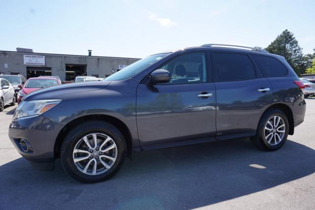 2014 Nissan Pathfinder SV 4WD 7 PSSNGRS CERTIFIED 2YR WARRANTY CAMERA BLUETOOTH HEATED STEERING & SEATS ALLOYS CRUISE