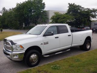 Used 2014 RAM 3500 SLT Crew Cab 8 foot Box 4WD Dually Diesel for sale in Burnaby, BC