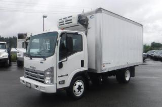 Used 2014 Isuzu NQR Cube Van 14 Foot Box Reefer Diesel for sale in Burnaby, BC