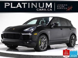 Used 2017 Porsche Cayenne S E-Hybrid, PLATINUM, PREMIUM PLUS, NAV, PANO, 21