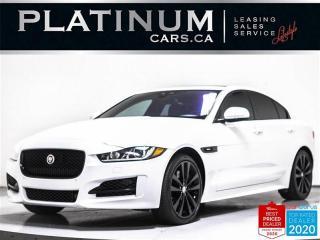 Used 2017 Jaguar XE 35t R-Sport, 340HP, NAV, AWD, VISION ASST, CAM for sale in Toronto, ON