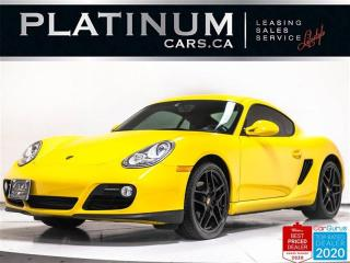 Used 2010 Porsche Cayman 987.2, 265HP, PDK, LEATHER, BLUETOOTH, PHONE for sale in Toronto, ON