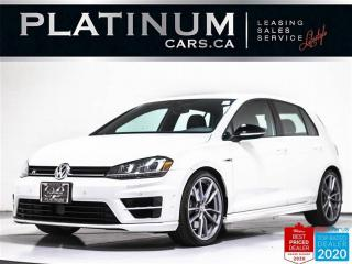 Used 2017 Volkswagen Golf R AWD, 288HP, NAV, LEATHER, CAM. MANUAL, BLUETOOTH for sale in Toronto, ON