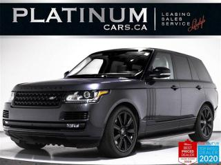 Used 2017 Land Rover Range Rover SUPERCHARGED 510HP, V8, BLK PKG, NAV, PANO, HEATED for sale in Toronto, ON