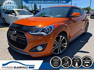 Used 2016 Hyundai Veloster 1.6 TURBO MANUELLE, CUIR, TOIT, NAVIGATI for sale in Blainville, QC