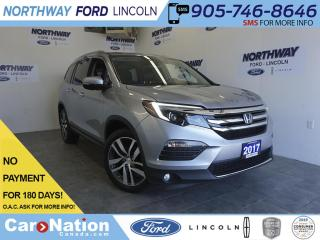 Used 2017 Honda Pilot TOURING | LEATHER | SUNROOF | 7 PASS | NAV | 43 KM for sale in Brantford, ON