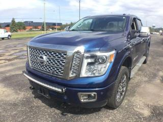Used 2017 Nissan Titan XD BLACK for sale in Thunder Bay, ON