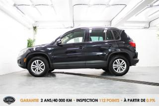 Used 2014 Volkswagen Tiguan FWD Manuelle Trendline + Banc Chauffant for sale in Québec, QC