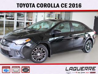 Used 2016 Toyota Corolla CE for sale in Victoriaville, QC