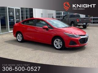 Used 2019 Chevrolet Cruze LT, Turbo, Fun to drive! for sale in Moose Jaw, SK