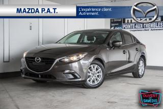 Used 2016 Mazda MAZDA3 CAMÉRA DE RECUL+BLUETOOTH+SIÈGES CHAUFFANTS+A/C for sale in Montréal, QC