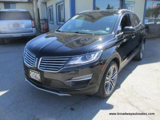 Used 2016 Lincoln MKC ALL-WHEEL DRIVE RESERVE EDITION 5 PASSENGER 2.3L - ECO-BOOST.. NAVIGATION.. SUNROOF.. LEATHER.. HEATED/AC SEATS.. BACK-UP CAMERA.. BLUETOOTH.. for sale in Bradford, ON