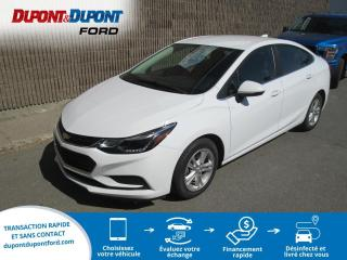 Used 2017 Chevrolet Cruze LT 1.4L berline 4 portes avec 1SD for sale in Gatineau, QC