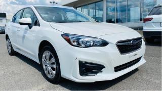 Used 2018 Subaru Impreza 2.0i Convenience 4-door Manual for sale in Lévis, QC