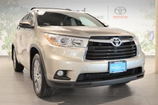Used 2016 Toyota Highlander XLE AWD for sale in Richmond, BC