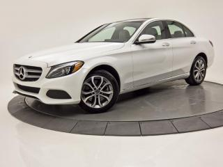 Used 2018 Mercedes-Benz C-Class 4MATIC NAV TOIT PANO CAM DE RECUL PADDLE SHIFT for sale in Brossard, QC
