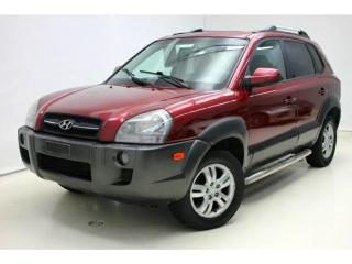 Used 2007 Hyundai Tucson GLS VS AWD *Cuir/Leather *Toit/Roof for sale in St-Hubert, QC