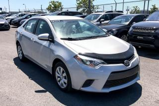 Used 2015 Toyota Corolla LE A/C CAMERA DE RECUL SIEGE CHAUFFANT for sale in St-Hubert, QC