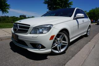 Used 2009 Mercedes-Benz C-Class C350 / AMG PACKAGE / GLASS ROOF / NO ACCIDENTS for sale in Etobicoke, ON