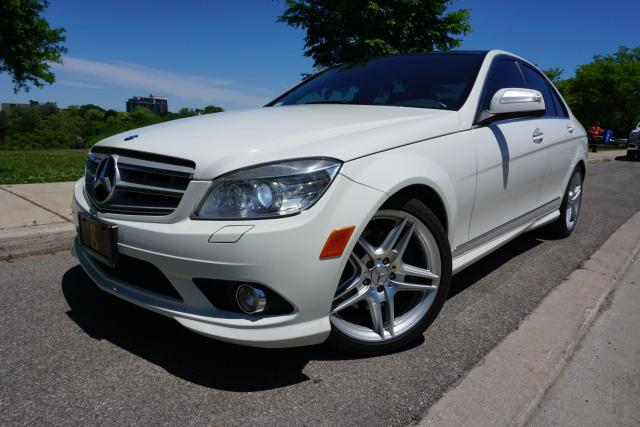 2009 Mercedes-Benz C-Class C350 / AMG PACKAGE / GLASS ROOF / NO ACCIDENTS