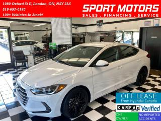 Used 2017 Hyundai Elantra GL+Apple Play+A/C+Camera+New Tires+Accident Free for sale in London, ON