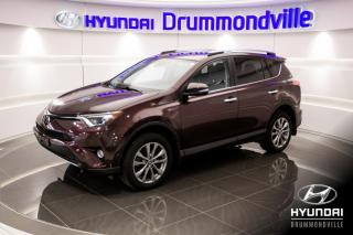 Used 2017 Toyota RAV4 LIMITED AWD + GARANTIE + NAVI + TOIT + for sale in Drummondville, QC