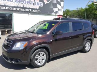Used 2013 Chevrolet Orlando LT - $62 WEEKLY for sale in Regina, SK