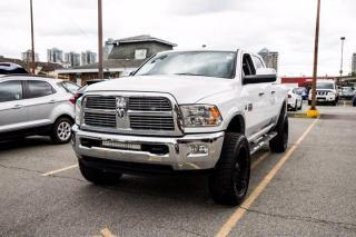 Used 2012 RAM 3500 Laramie 4x4 Crew Cab 149wb *No Accidents* Leather Cam for sale in New Westminster, BC