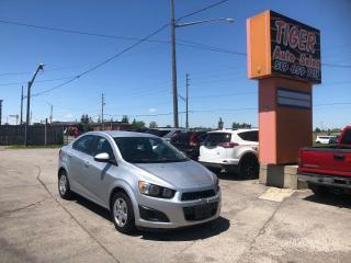 Used 2015 Chevrolet Sonic LS**AUTO**ONLY 155KMS**RUNS WELL**AS IS SPECIAL for sale in London, ON
