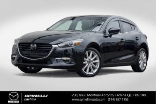 Used 2017 Mazda MAZDA3 GT SPORT TECH CUIR TOIT OUVRANT SYSTEME AUDIO BOSE Mazda 3 Sport GT 2017 Tech for sale in Lachine, QC