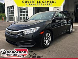 Used 2017 Honda Civic LX *GARANTIE GLOBALE 2021 OU 100 000 KM* for sale in Donnacona, QC