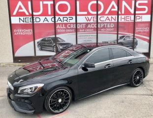 Used 2018 Mercedes-Benz CLA-Class CLA 250-ALL CREDIT ACCEPTED for sale in Scarborough, ON