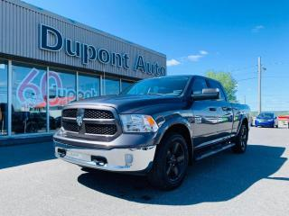 Used 2017 RAM 1500 Cabine multiplaces 4RM, 149 po Outdoorsm for sale in Alma, QC