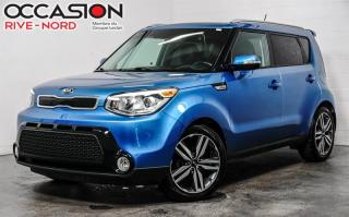 Used 2016 Kia Soul SX CUIR+MAGS+SIEGES.CHAUFFANTS+CAM.RECUL for sale in Boisbriand, QC