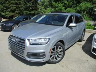 Used 2017 Audi Q7 TECHNIK/VENTILATED SEATS/7 PASS/360 CAM/PANO! for sale in Toronto, ON