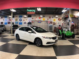 Used 2015 Honda Civic Sedan EX AUT0 A/C SUNROOF BACKUP CAMERA BLUETOOTH 99K for sale in North York, ON