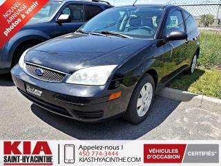 Used 2007 Ford Focus SE ** SIÈGES CHAUFFANTS + A/C for sale in St-Hyacinthe, QC