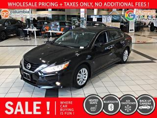 Used 2018 Nissan Altima 2.5 S - No Accident / Local for sale in Richmond, BC