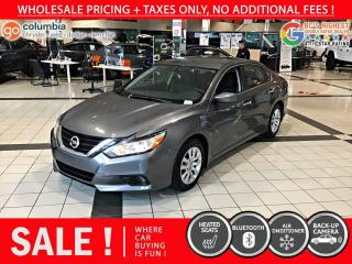 Used 2018 Nissan Altima 2.5 S - Accident Free / No Dealer Fees for sale in Richmond, BC
