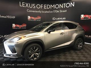 New 2020 Lexus NX 300 F Sport Series 2 for sale in Edmonton, AB