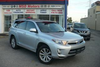 Used 2011 Toyota Highlander Hybrid LIMITED for sale in Toronto, ON