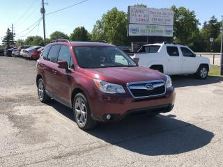 Used 2015 Subaru Forester i Limited w/Tech Pkg for sale in Komoka, ON