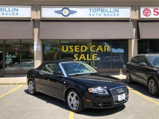 Used 2007 Audi A4 2.0T Convertible, 2 Years Warranty for sale in Vaughan, ON