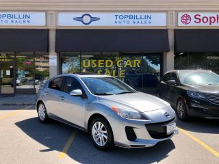 Used 2012 Mazda MAZDA3 GS-SKY SUNROOF 2 Years Warranty for sale in Vaughan, ON